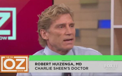 Dr. Robert Huizenga Charlie Sheen Diagnosis