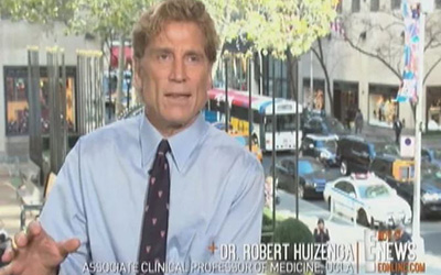 Dr. Robert Huizenga advises Charlie Sheen Video